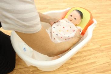 【沐浴教室】初めてのお風呂を応援します♪